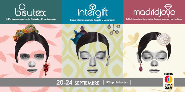 Ventajas para ti en MadridJoya, Bisutex e Intergift.